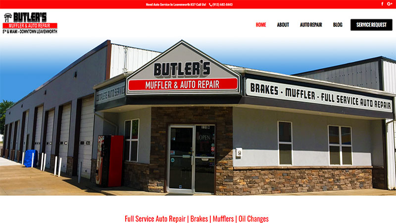 Butler's Mufflers   Leavenworth Auto Repair