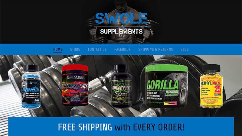 SWOLE-SUPPLEMENTS | Hardcore Body Building Supplements
