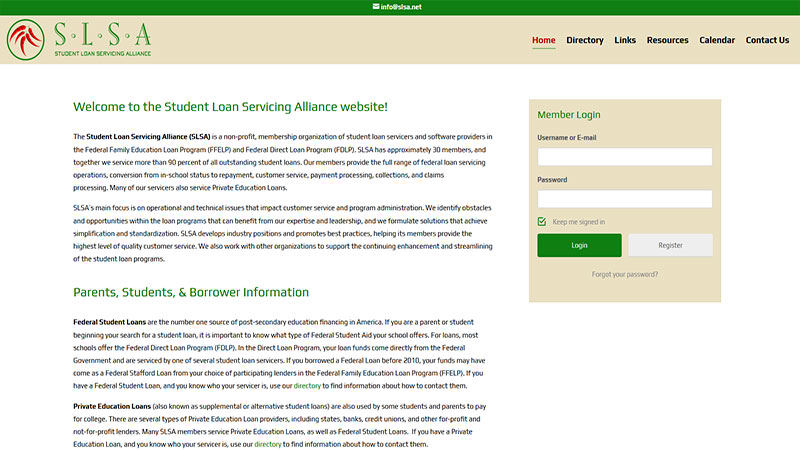 SLSA - Student Loan Servicing Alliance